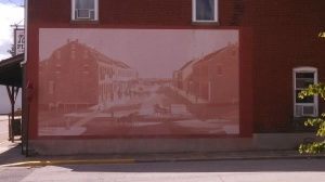 Mural on a Building in Mascoutah